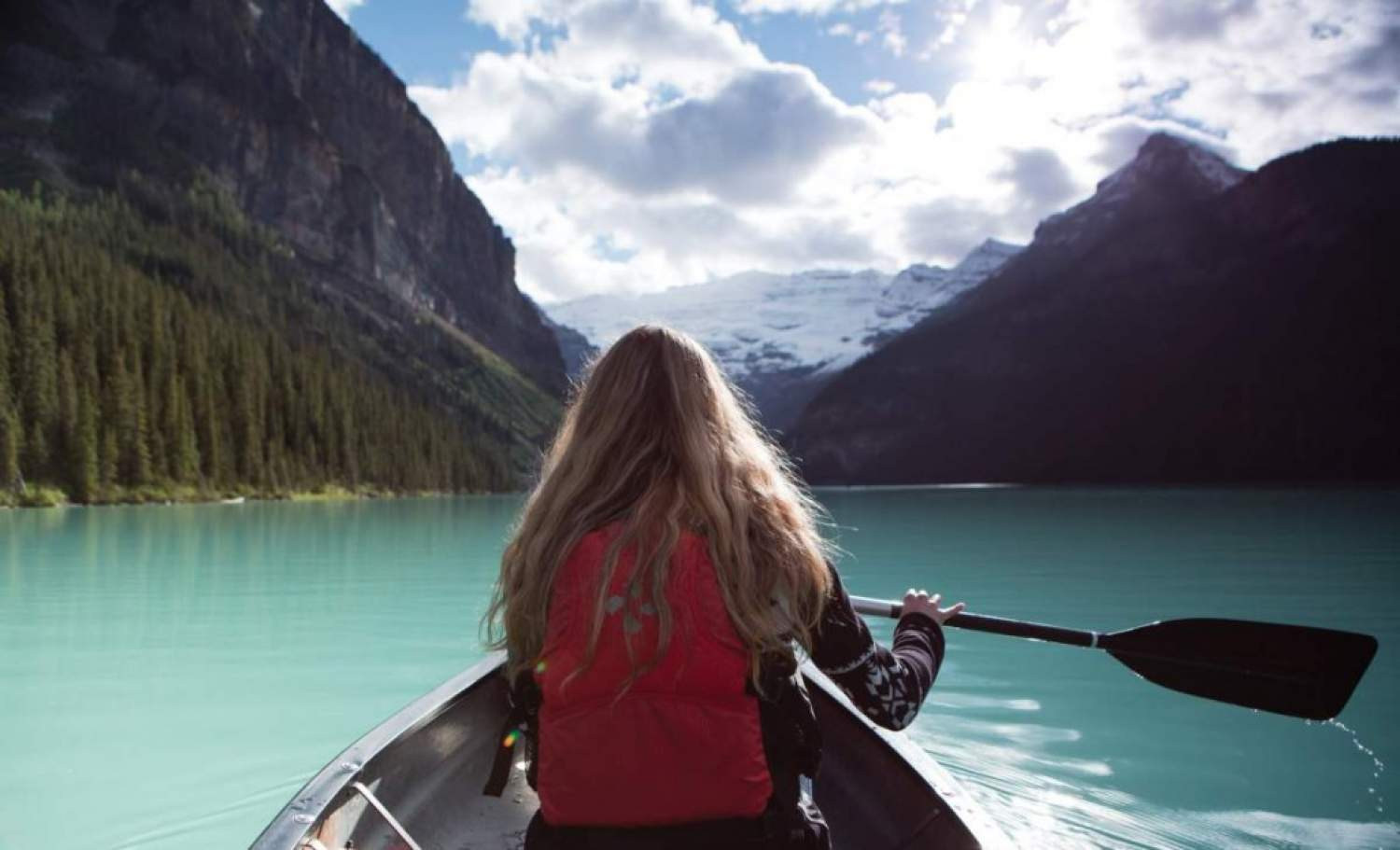 Kayaking On Lake Louise A Must In Alberta Experiencetransat