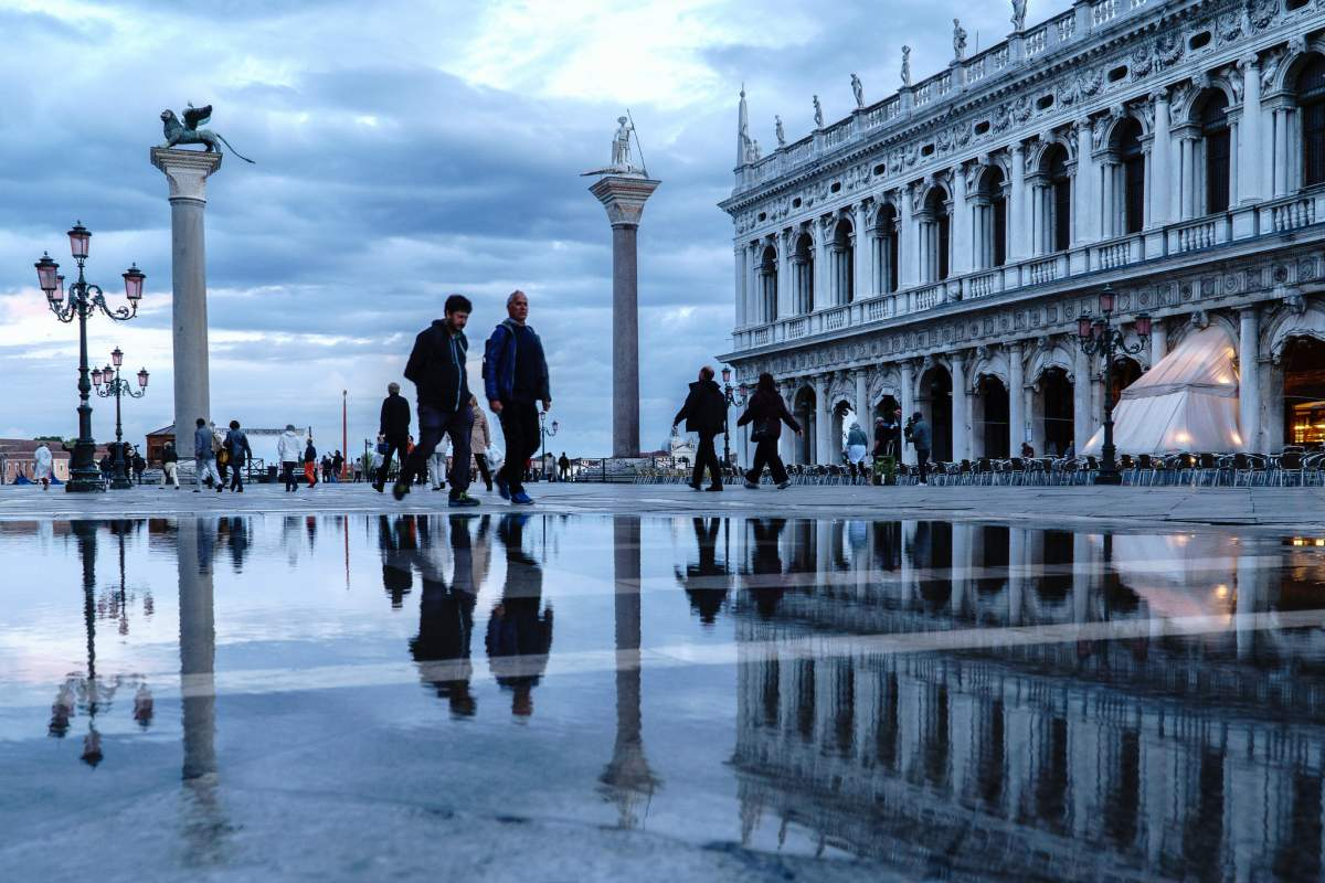 Piazza San-Marco in Venice, Italy
