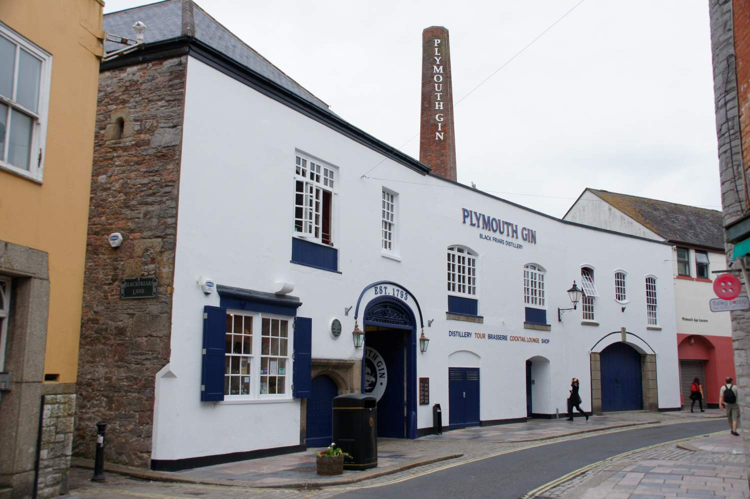 Plymouth gin distillery, London