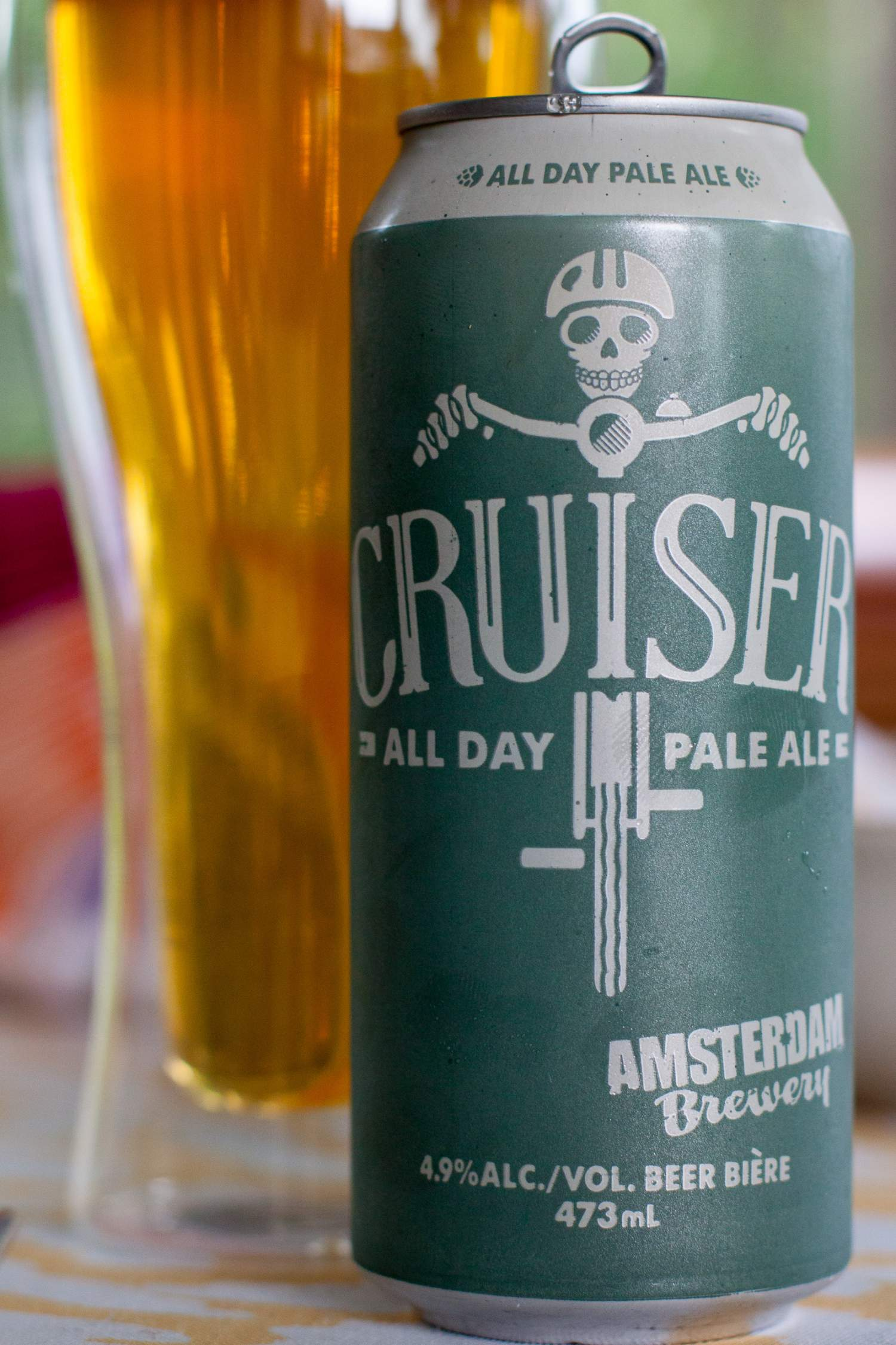 Pale ale from Amsterdam brewery, Toronto