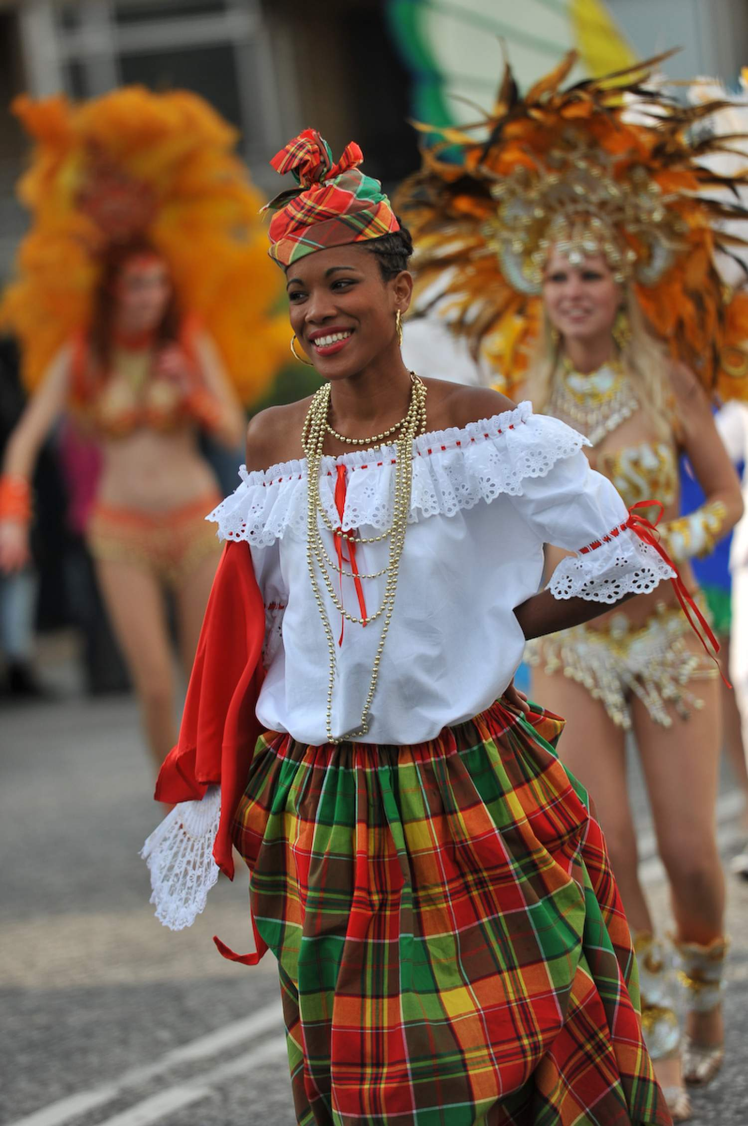Traditional outfit of Martinique