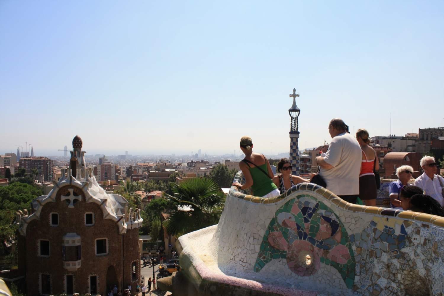Guell famous park of Barcelona