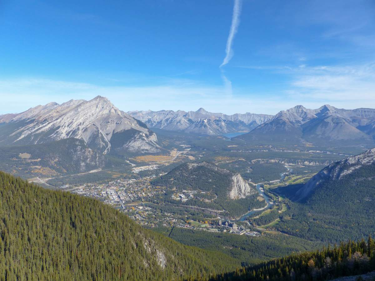View of Banff National Park