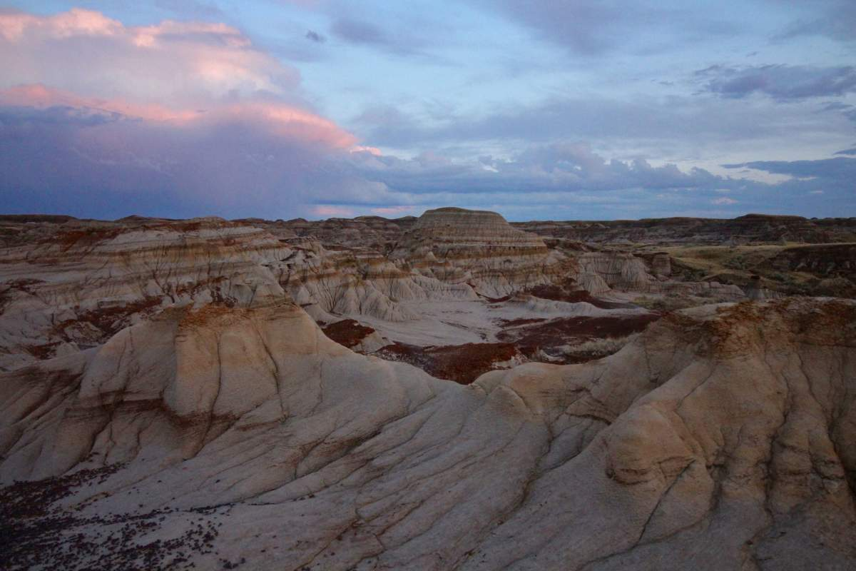 View of the Dinosaur Provincial Park