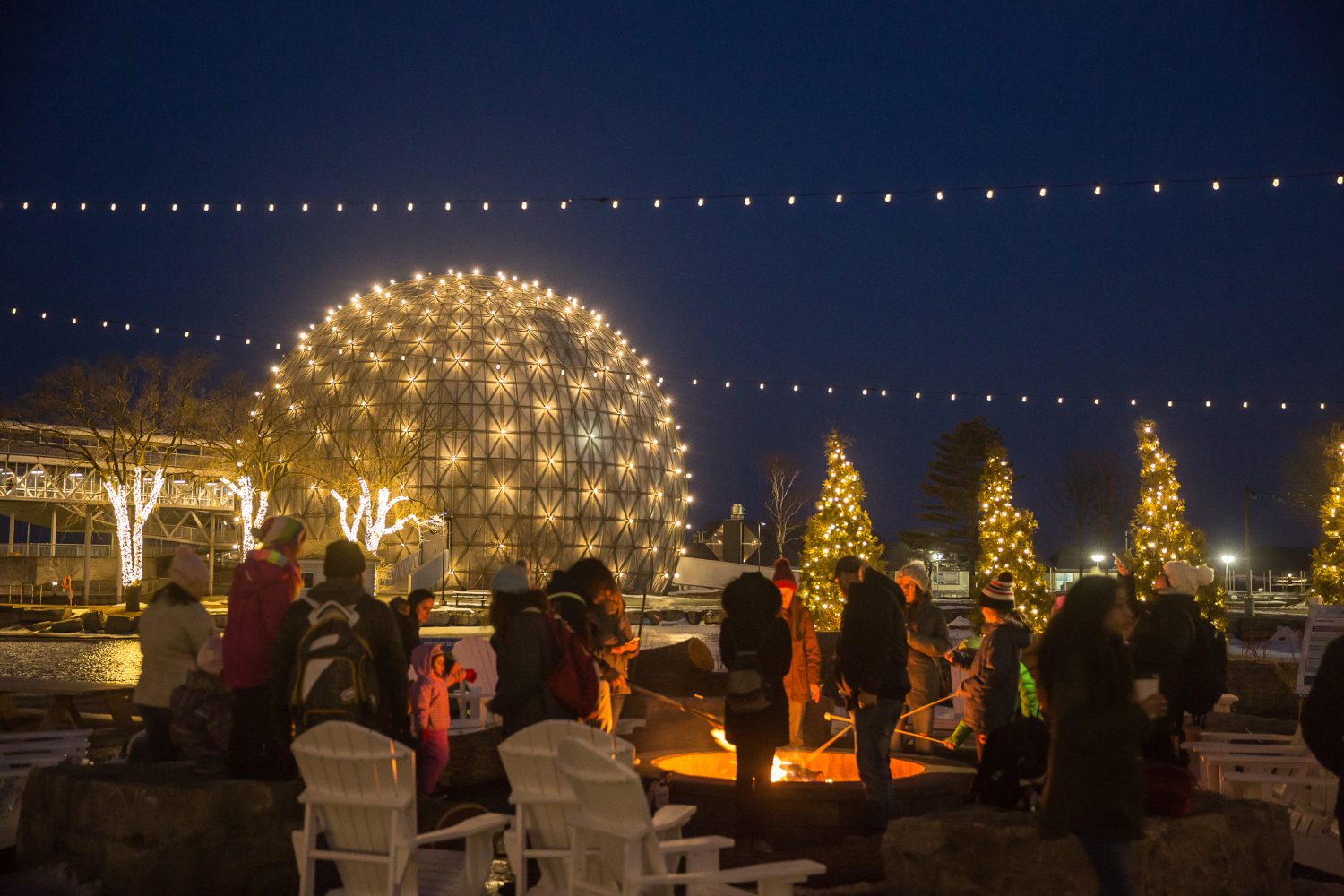 Ontario Place - How to spend the holidays in Toronto