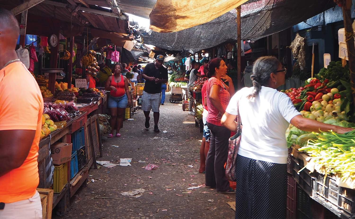 Bazurto market in Cartagena