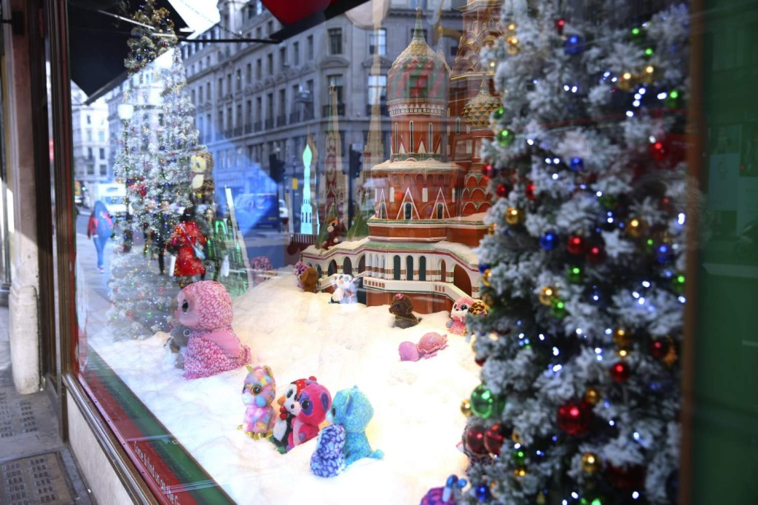 Christmas showcase in London