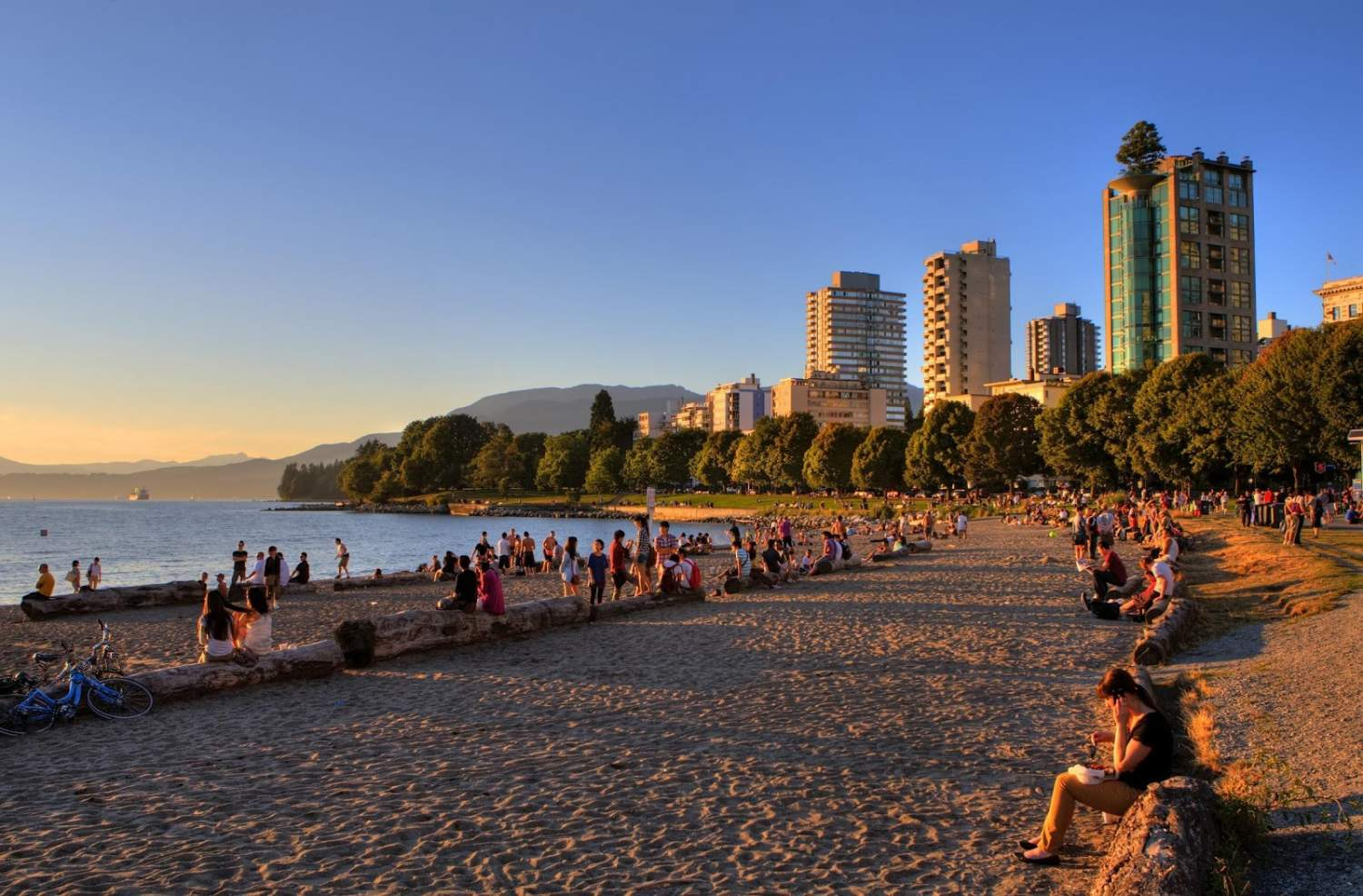 Second beach in Vancouver