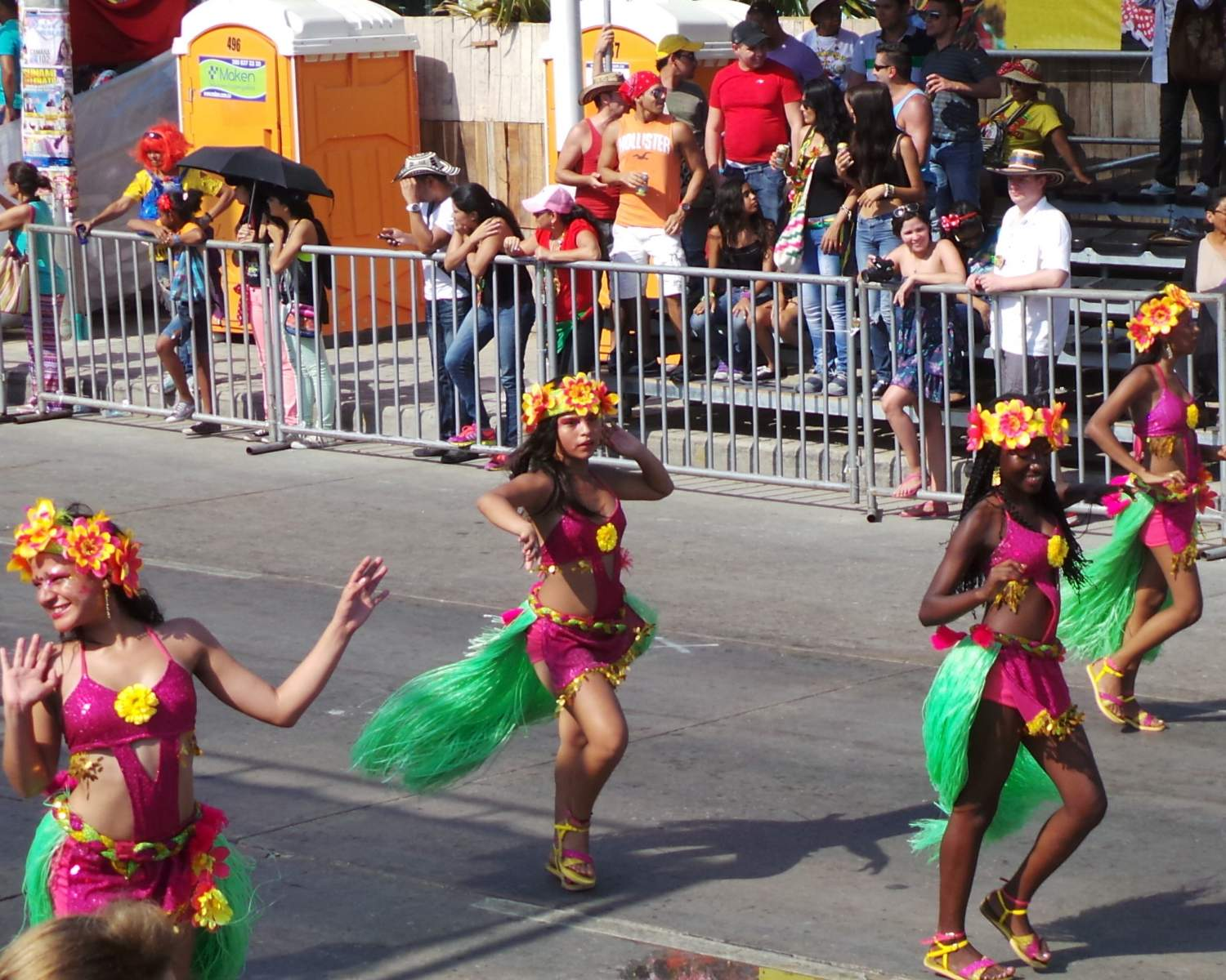 Cumbia dance in Colombia