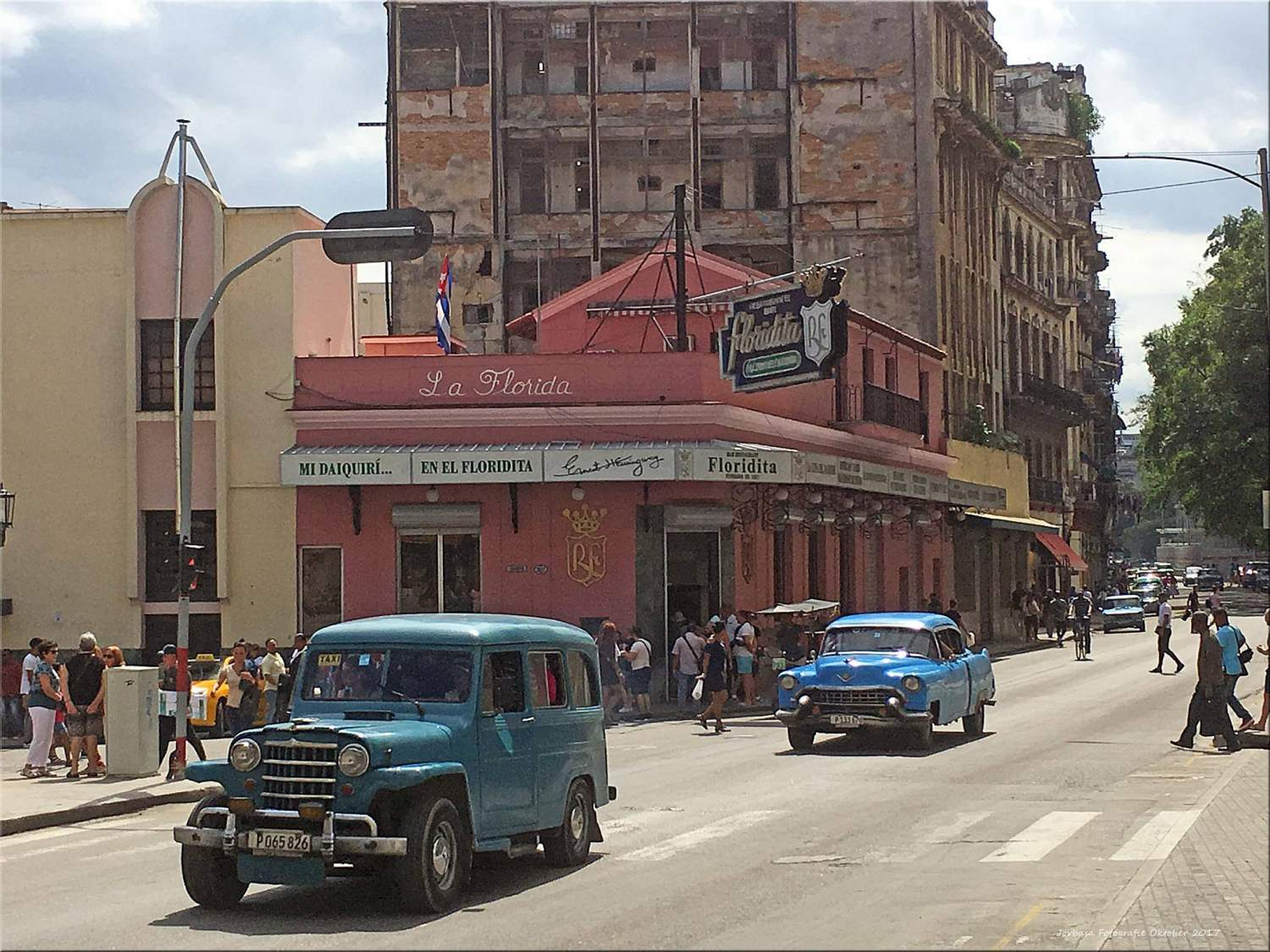 Famous bar of Havana: El Floridita
