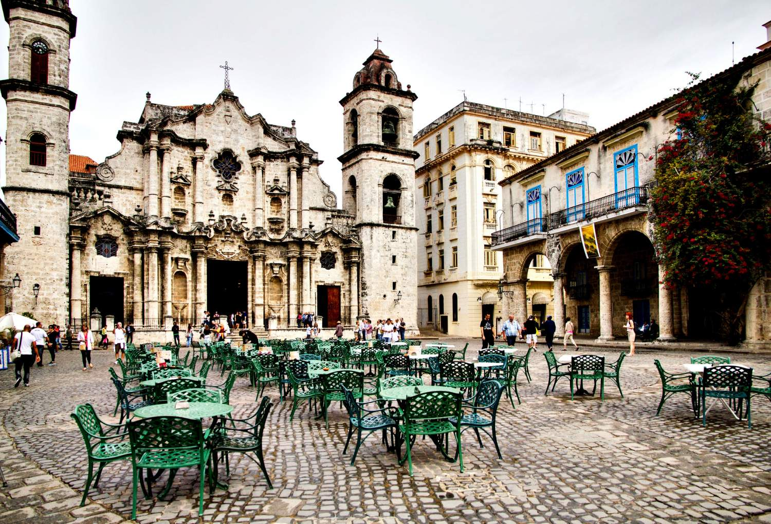Havana's central Cathedral, Cuba