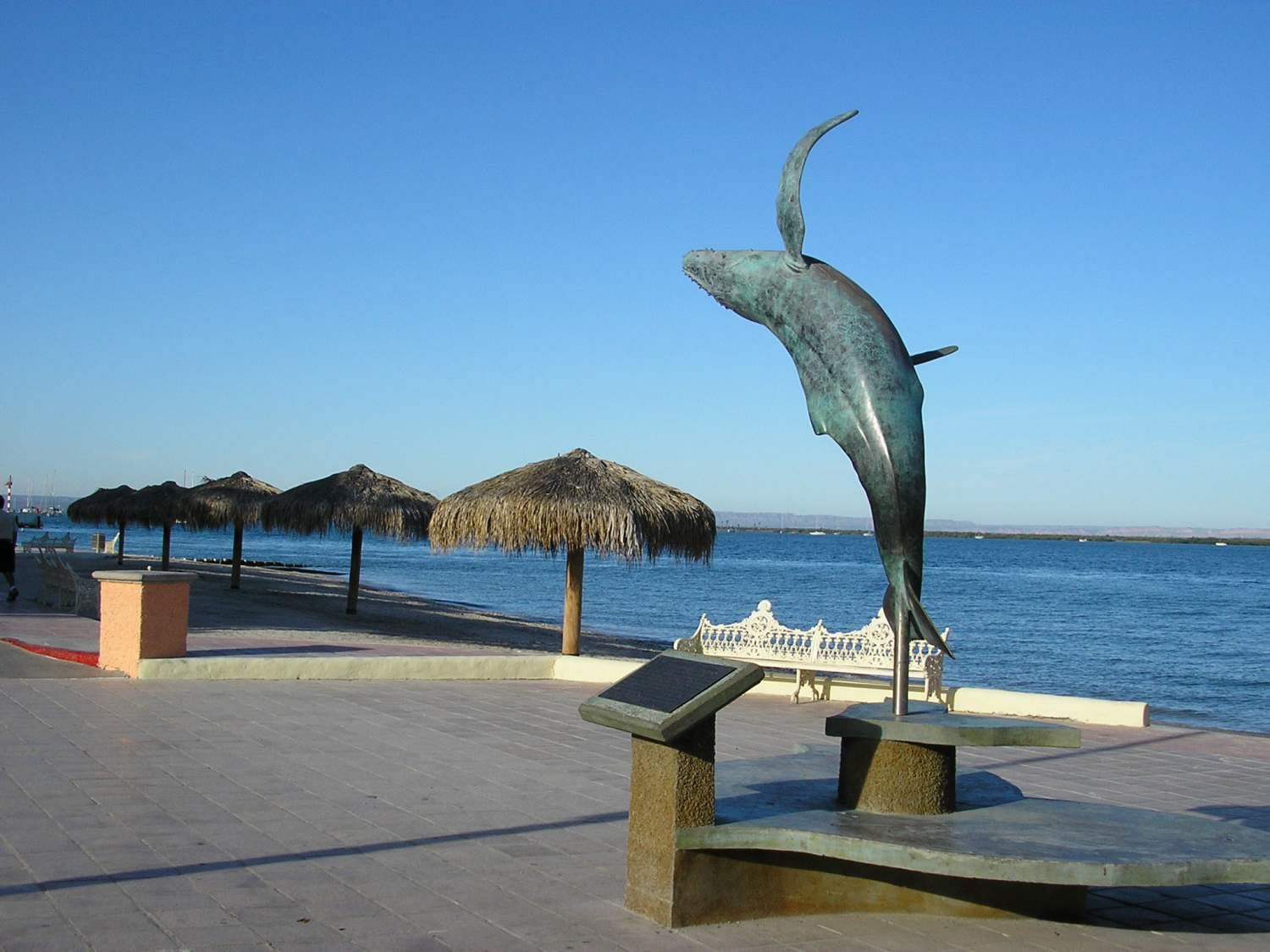 The Malecon of La Paz, Mexico