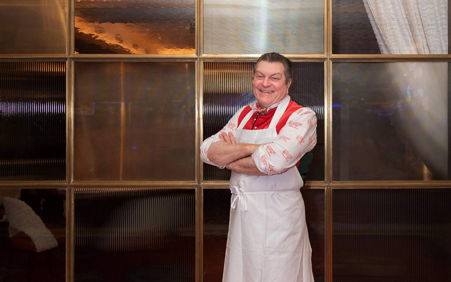 Dario Cecchini from Carna restaurant in Nassau