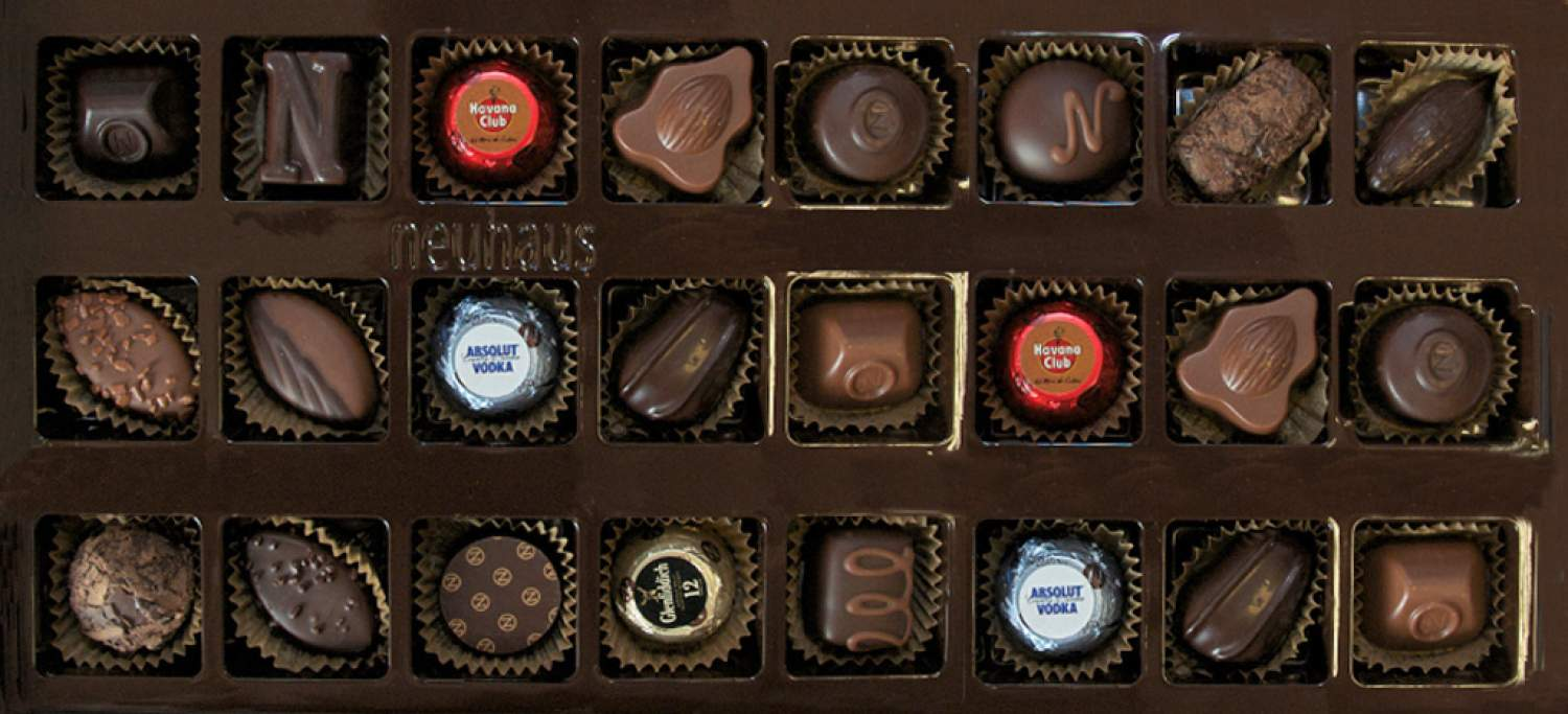 Neuhaus chocolates, Brussels