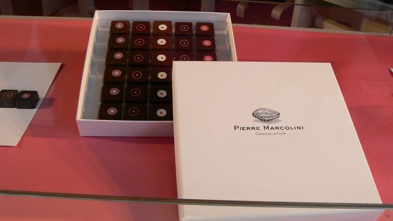 Pierre Marcolini, chocolate maker in Brussels