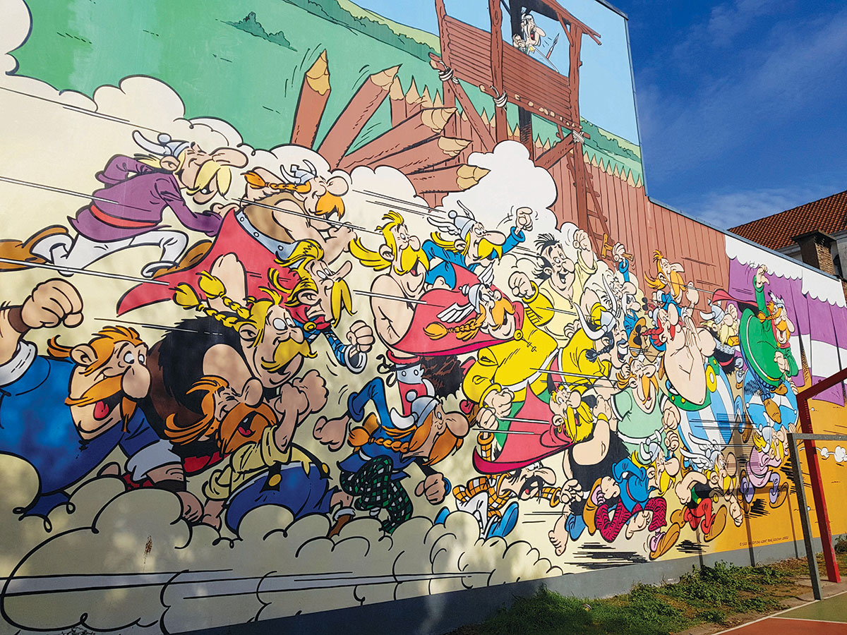 Asterix, Brussels