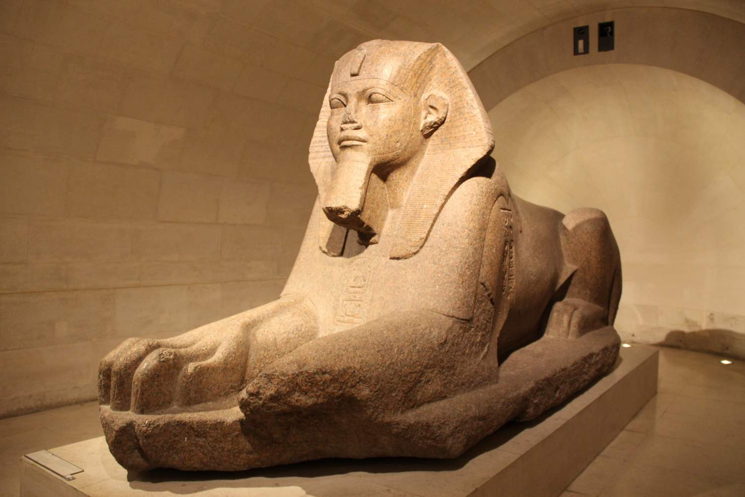 Great Sphinx of Tanis at the Louvre