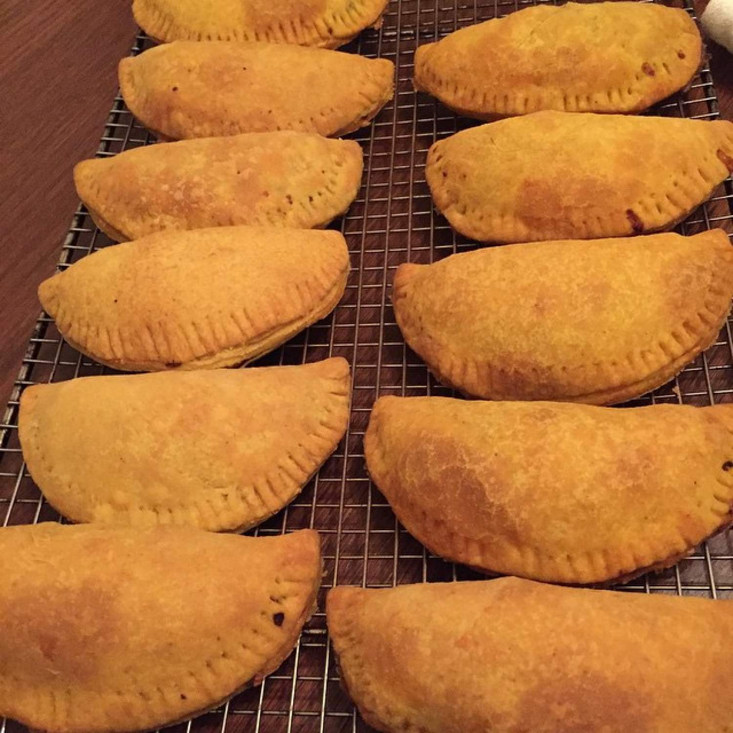 Patties de Jamaïque