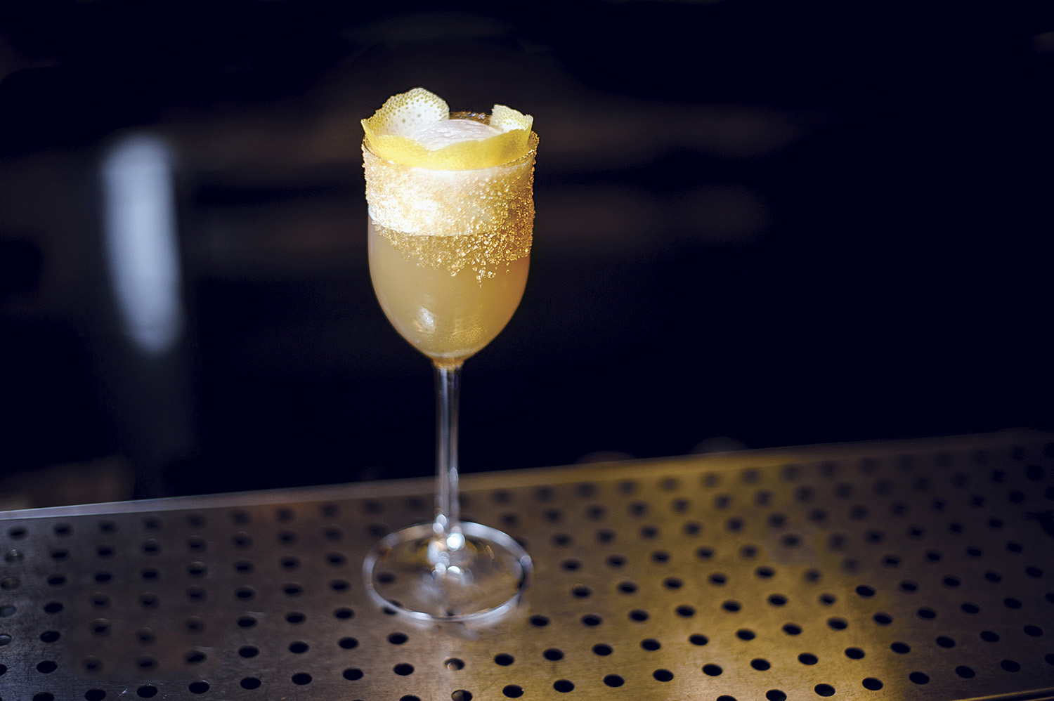 Classic cocktail, the Brandy Crusta