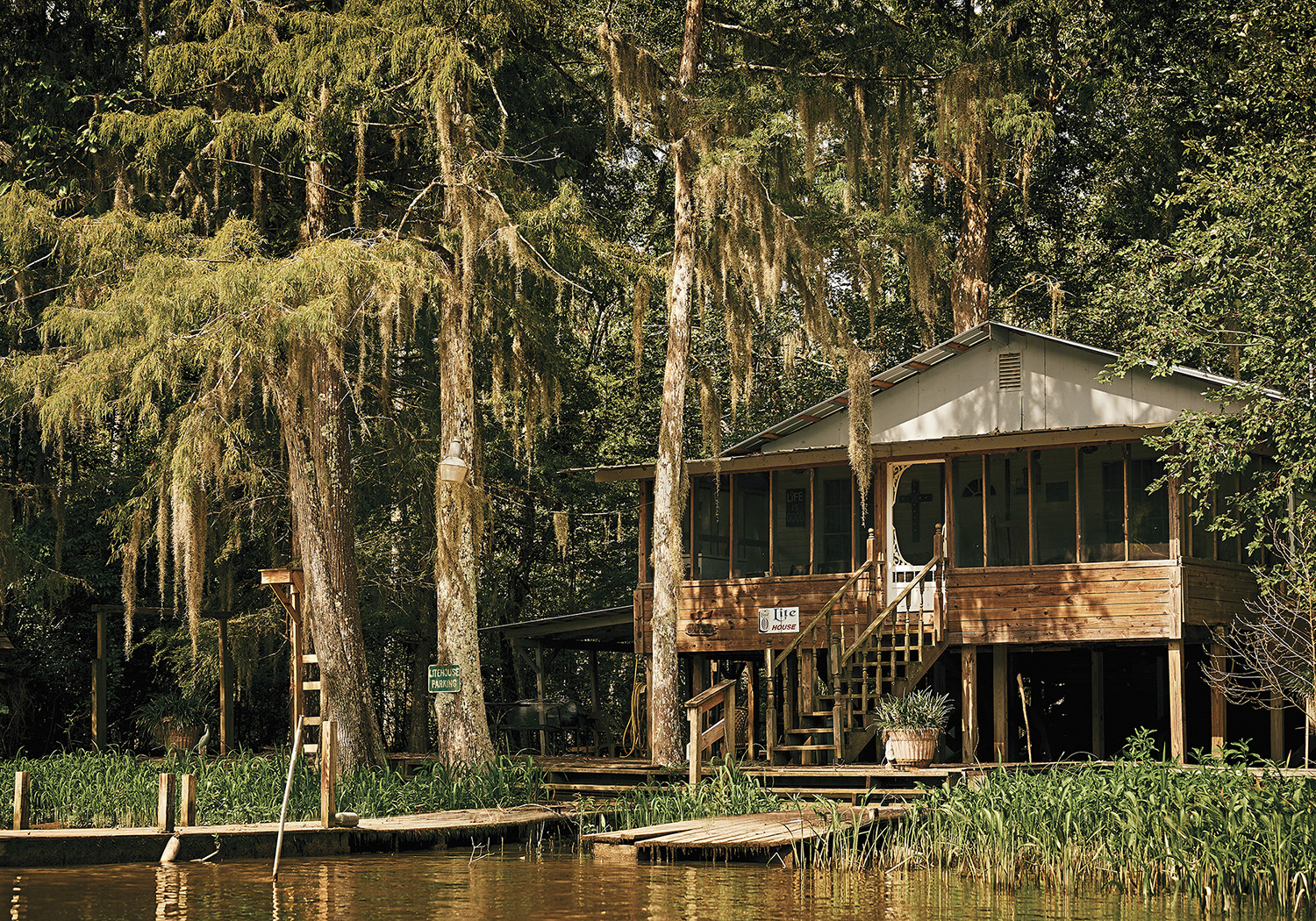 Swamp house of New-Orleans