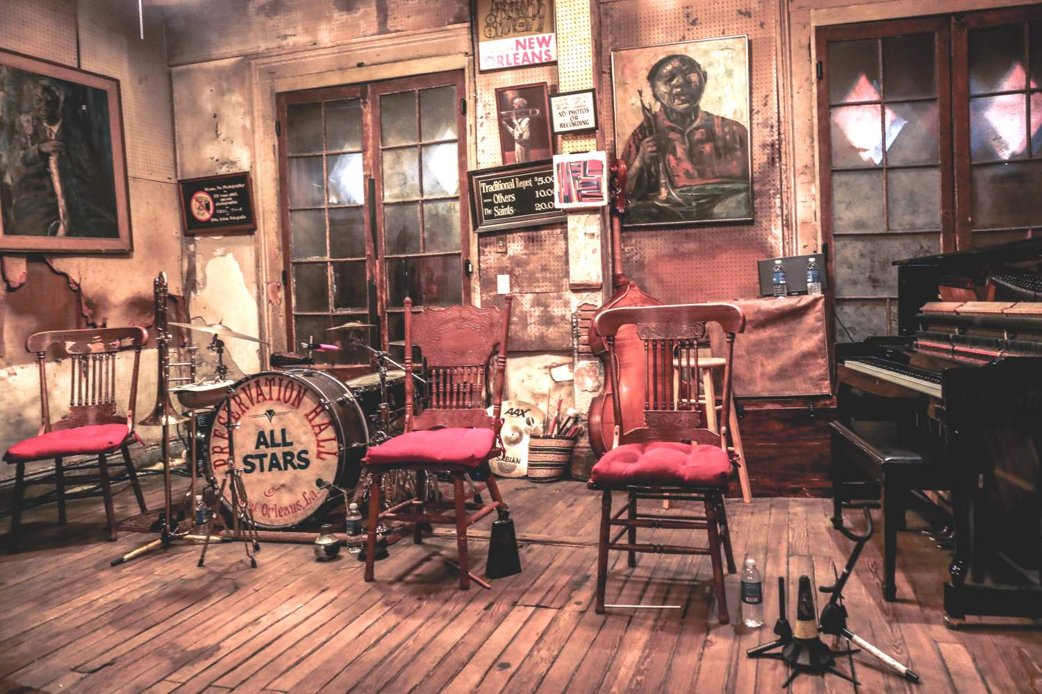 Preservation Hall in Nola