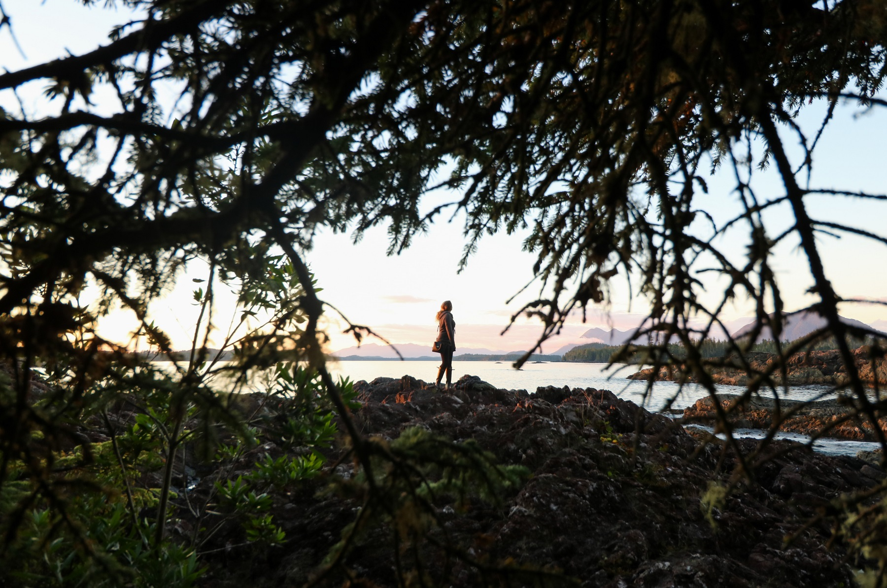 Sunsets in Tofino - western canada itinerary
