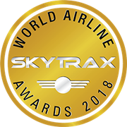 World Airline Skytrax logo - Awards 2018