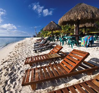Cozumel-Chairs On The Beach