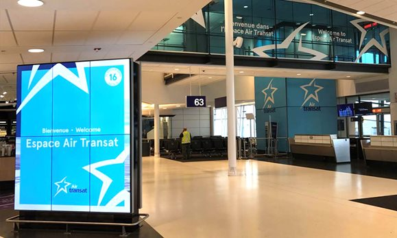elliott trudeau international airport montreal air transat