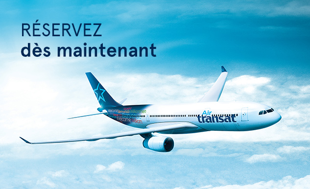 Réserver Classe Club Air Transat