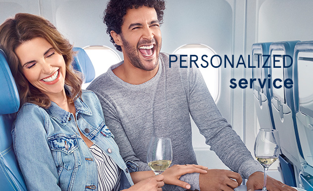 Club Class Personalized service Air Transat