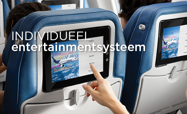 Entertainment/films bij Air Transat