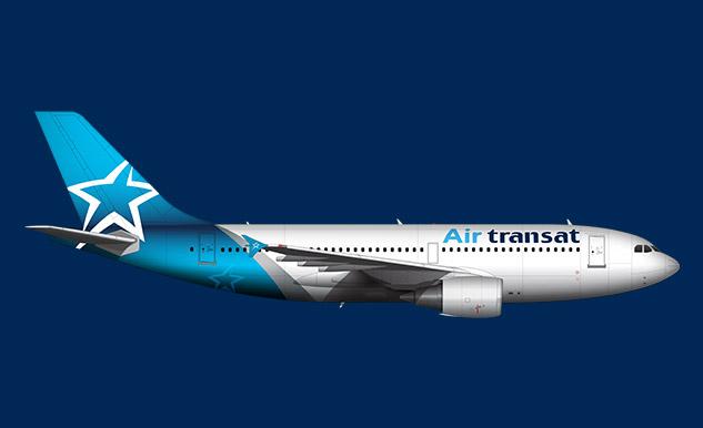 Airbus A310 300 Air Transat