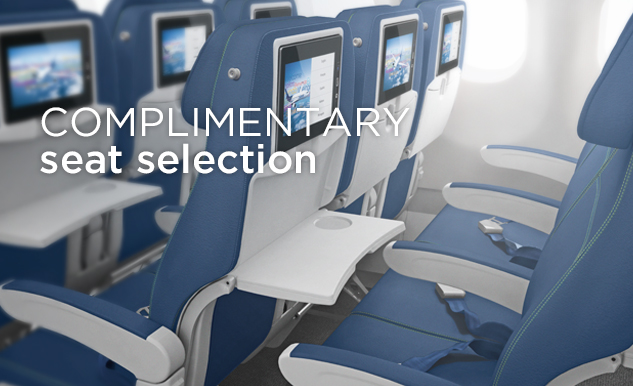 Option plus in economy class with free seat selection for Interieur d avion air france