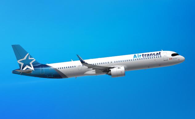 Airbus A321neolr Air Transat