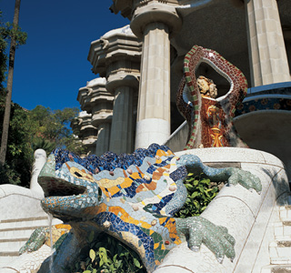 Barcelone-Parc Guell