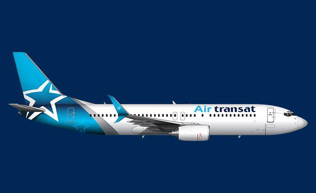 Boeing 737 800 Air Transat