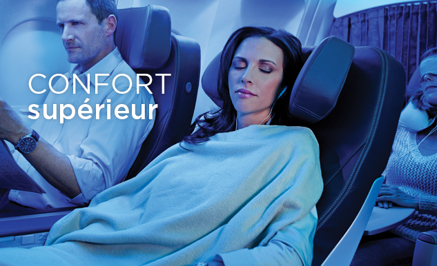 Confort Classe Club Air Transat