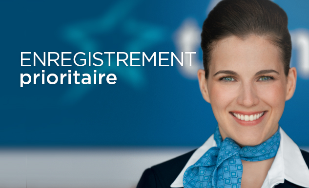 Enregistrement prioritaire Option Plus Air Transat
