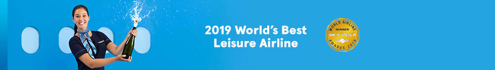 2019 World's Best Leisure Airlines.