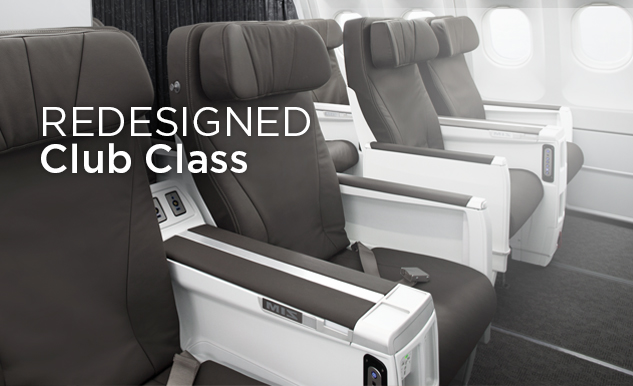 New Air Transat aircraft cabin