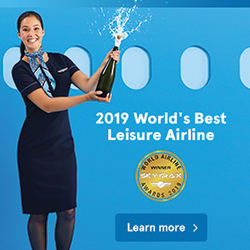 2019 World's Best Leisure Airline