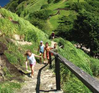 St Lucia-Hiking
