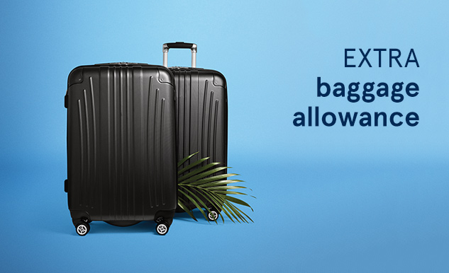 Extra baggage Option Plus Air Transat
