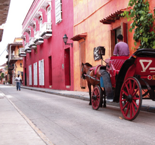 Cartagena-Horse carriage