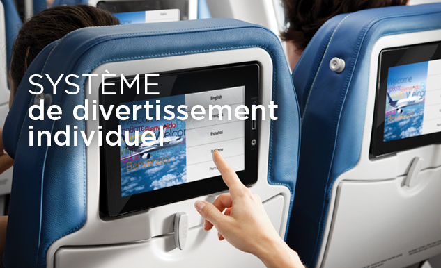Divertissement, films sur Air Transat