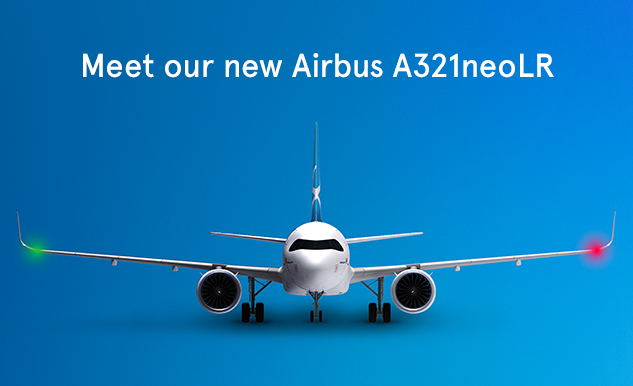 Meet our new Airbus A321neoLR