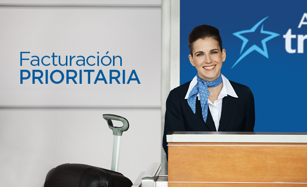 Facturación prioritaria Option Plus de Air Transat