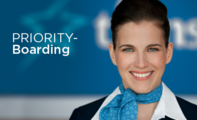 Priority-Boarding Air Transat Option Plus