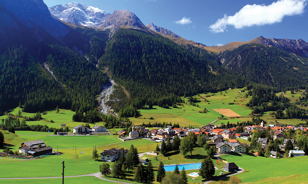 Flights to Switzerland Air Transat